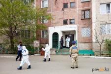 Два подъезда закрыли на карантин в Павлодаре