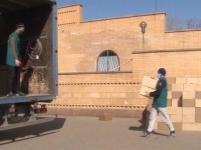 Три тонны гуманитарного груза отправили из Павлодара в Нур-Султан