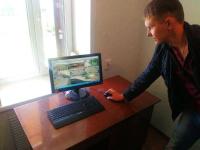 В Щербактинском районе презентовали мини-центр оперативного управления