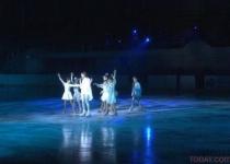 Необычное ледовое шоу организовали в Павлодаре