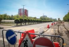В Павлодаре свободную от ремонта полосу на проспекте Назарбаева сделают двусторонней