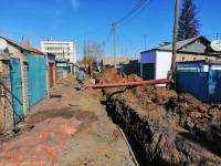 Руководство департамента по ЧС ознакомилось с ходом строительства канализации на Втором Павлодаре