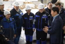 """Бауыржан Байбек: """"Наряду с обеспечением работой необходимо создавать комфортные и безопасные условия труда"""""""