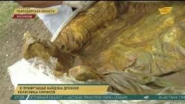 В Прииртышье найдена древняя колесница кимаков