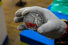 В Павлодаре проходит выставка монет в рамках 25 звёздных дней, посвящённых Независимости Республики Казахстан