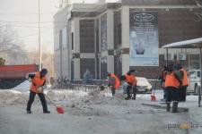 В Павлодаре за сутки убрали 4 тысячи тонн снега