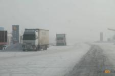 В связи с непогодой в Павлодарской области закрыты некоторые трассы
