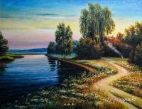 Павлодарские предприниматели продали картины местных художников на 1,5 миллиона тенге