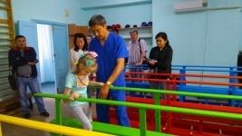 Новый реабилитационный зал создали по чертежам павлодарского специалиста