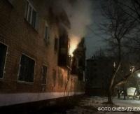 Павлодарские пожарные обнаружили труп мужчины в сгоревшей квартире