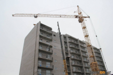 В микрорайоне Сарыарка приступают к строительству семи кирпичных домов