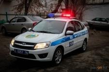 В Павлодаре водитель устроил погоню с полицейскими