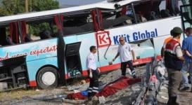 Крупное ДТП в Турции: В автобусе находились 7 граждан Казахстана