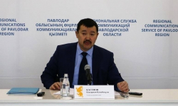 Аким Успенского района рассказал о проводимой оптимизации госслужащих и сельских округов