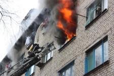 При пожаре в общежитии погибли люди