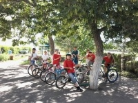 В Щербакты открыт велосипедно-туристский лагерь «Меридиан»