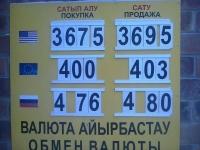 Некоторые павлодарские обменники продают рубль по пять тенге