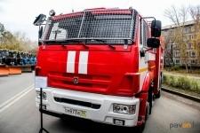 В Павлодаре спасателям вручили технику для борьбы с пожарами