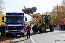 Свыше 250 нефтяников вышли на пятничную уборку городской территории