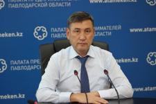 Директор региональной палаты предпринимателей обратился к бизнесменам Павлодарской области