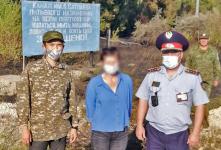 Жительница Аксу курила в лесу и устроила пожар
