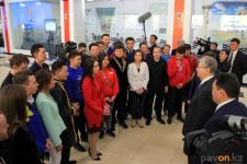 Президент Казахстана предложил инициативной павлодарской молодежи обращаться к нему с новыми идеями