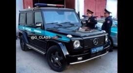 "Полицейский ""Гелендваген"" удивил казахстанцев"