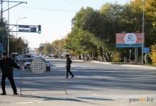 В Павлодаре завершился ремонт трамвайного полотна на перекрестке Лермонтова-Кутузова