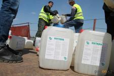 Более 180-ти тонн «Бактицида» использовано для борьбы с мошкой в Павлодарской области