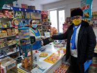 Кандидаты в депутаты в областной маслихат провели в Аксу акцию «От двери к двери»
