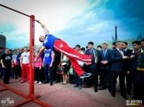 Интернациональный Чемпионат мира Street Workout в г. Астана