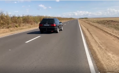 Отремонтированы несколько участков дороги Щербакты - Павлодар - граница РФ