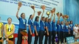 Казахстанские волейболистки победили Китай в финале турнира на Кубок Президента РК