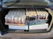 Сельский таксист занимался незаконной доставкой алкоголя в Павлодарской области