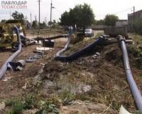 На утечку канализационных стоков жалуются павлодарские дачники