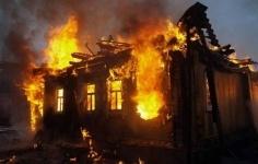 За сутки в Павлодарской области дотла сгорели два частных дома