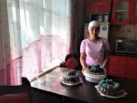 Жительница Успенского района открыла кондитерскую с помощью гранта от государства