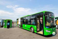 В Павлодаре на линию вышли первые электробусы