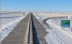 Последний участок трассы Астана-Павлодар достроили в Акмолинской области