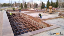 В Павлодаре готовят к запуску фонтаны
