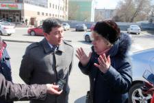 В Павлодаре продолжается противостояние строительству банка в сквере Денсаулык