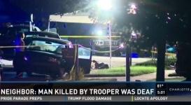 Полицейский в США застрелил объяснявшегося жестами глухонемого водителя