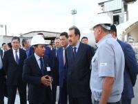 Масимов ознакомился с ходом модернизации Павлодарского нефтехимического завода