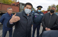 О планах А, В и С по уборке снега зимой высказался аким Павлодарской области