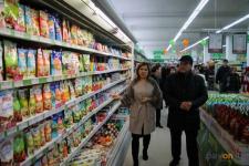 Булат Бакауов посетил новый супермаркет в Дачном микрорайоне, который появился на месте долгостроя