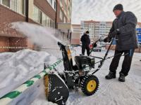 Павлодарские КСК приступают к уборке снега во дворах
