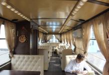 В Павлодаре состоялось открытие трамвайного кафе