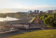 Жителям Павлодарской области разрешили гулять в парках и на набережной, а также ходить в небольшие торговые дома