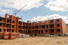"""К концу года в Павлодаре должны достроить два многоэтажных дома в районе рынка """"Квазар"""""""
