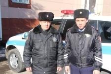 Павлодарские полицейские тараном остановили угонщика